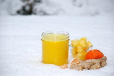 Куркума и ананас