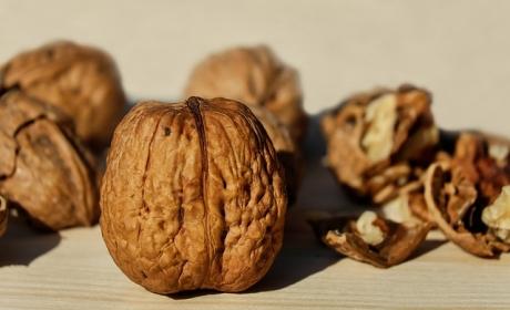 Орехови черупки
